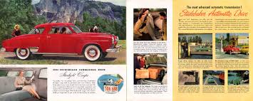1951 studebaker brochure page 6 of 9