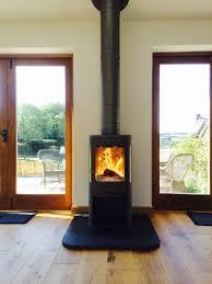 kernow fires contura 655 wood burning stove installation in