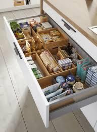 clever kitchen storage ideas schuller flex boxes for drawer