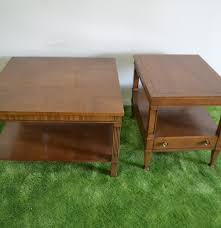 drexel coffee table 1970s