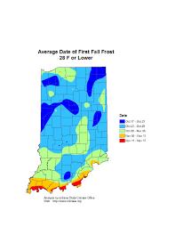 Frost Line Map Freeze Frost Probability U0026 Growing Season Length U2013 Iclimate