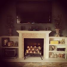 Artificial Logs For Fireplace by Best 25 Diy Fireplace Ideas On Pinterest Faux Fireplace Fake