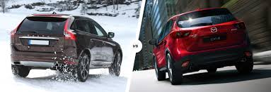 cheap mazda volvo xc60 vs mazda cx 5 suv face off carwow
