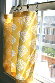 Window Curtain Tension Rod Pinspiration Monday No Sew Cafe Curtains Cafe Curtains Cafes