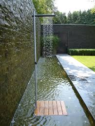 Outdoor Pool Showers - cascade outdoor showers from tradewinds architonic
