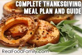 complete thanksgiving menu plan and preparation guide