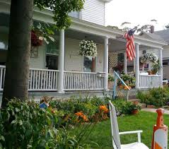 porch hanging flower baskets porch traditional with beadboard