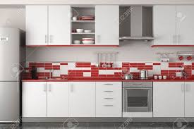 white and red interior design amazing kitchen gray tile floor red