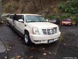 2008 cadillac escalade for sale used 2008 cadillac escalade suv stretch limo coach 52 500