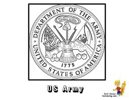 coloring presidential seal coloring page