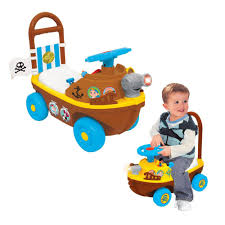 toddler ride on car jake u0026 never land pirate boat ride on push along children toddlers