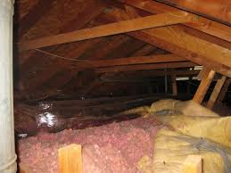 Insulating Vaulted Ceilings by Old Poorly Insulated Attic W Vaulted Ceiling Insulation Diy