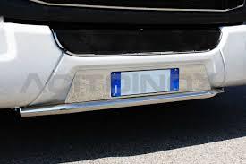 porta targa auto central bar with license plate holder 40 scania new r