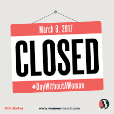 facebook day without women closed sign profile meaning