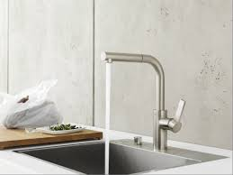 Dornbracht Tara Kitchen Faucet by 1 Hole Kitchen Mixer Tap With Pull Out Spray Sync By Dornbracht