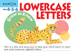 kumon publishing kumon publishing grow to know lowercase letters