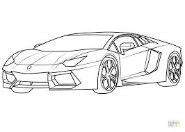 draw lamborghini murcielago lamborghini aventador supercar coloring page free printable