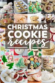 christmas cookie gifts 50 festive christmas cookie recipes best christmas cookies