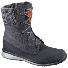 womens boots for walking salomon hime mid womens boot apres walking boots womens
