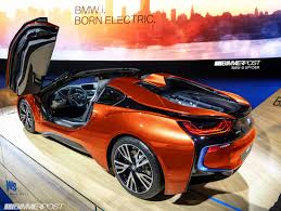 Bmw I8 Modified - bmw i8 spyder approved for production