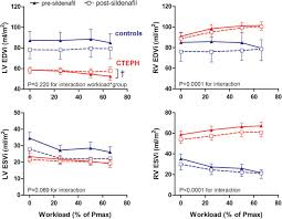 exercise pathophysiology and sildenafil effects in chronic