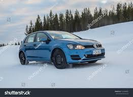 volkswagen winter ivalo finland january 20 2017 winter stock photo 720499882