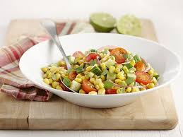 légumes faciles à cuisiner salade de maïs et tomates cerise recette légumes surgelés