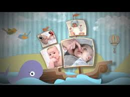 Baby Photo Album Birth Announcement Baby Photo Album Youtube