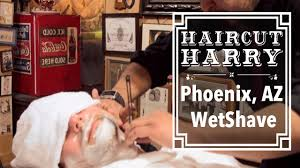 the phoenix wet shave haircut harry experiences the house of