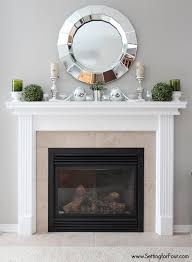 painted tile and brick store how to paint tile easy fireplace paint makeover setting for four