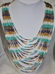 necklace beaded crystal images Long gorgeous swarovski crystal beaded necklace jpg