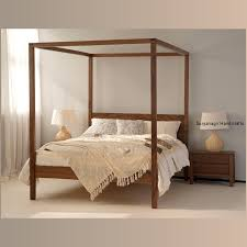 4 post bed contemporary 4 poster bed u2013 royal ambience