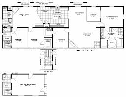 Two Bedroom Floor Plan by 2 Bedroom Mobile Home Floor Plans