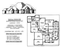 4 bedroom single story house plans traditional style house plans 2775 square foot home 1 story 3