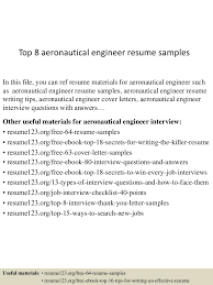 Best Resume Format For B Com Freshers by Top8aeronauticalengineerresumesamples 150520134716 Lva1 App6892 Thumbnail 4 Jpg Cb U003d1432129684