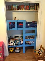 Loft Beds Maximizing Space Since Toddler Bunk Beds In A Closet This Leaves So Much Space In The