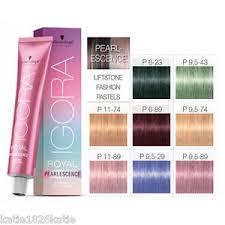igora hair color instructions schwarzkopf igora royal pearlescence permanent hair colour 60ml ebay