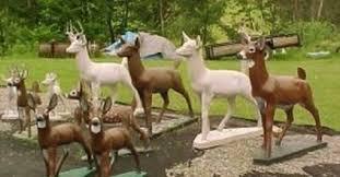wisconsin concrete deer hoax