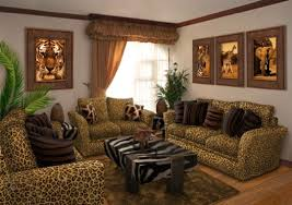 Horror Themed Home Decor by Leopard Print Living Room Ideas Home Decorating Interior Design