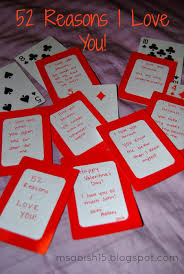 cards for him image of card quotes with 52 reason i you for him
