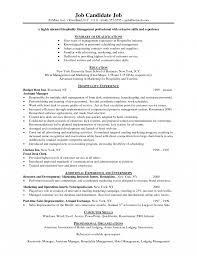 hospitality resume exle hospitality resume exle sles canada exles curriculum