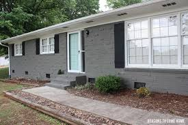 How To Paint A Brick Wall Exterior - best paint for exterior brick walls diy old outdated to cottage