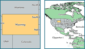 map usa showing wyoming where is wyoming state where is wyoming located in the world