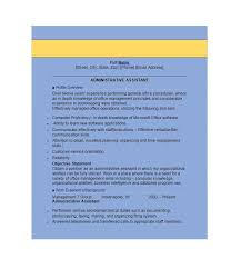 administrative assistant resume templates 20 free administrative assistant resume sles template lab
