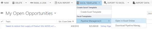 Excel Crm Template Sonoma Partners Microsoft Crm And Salesforce Crm 2016 Excel