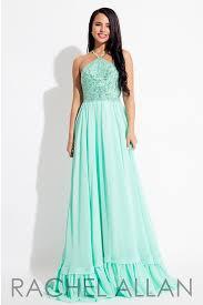 rachel allan 7673 mint beaded a line prom dress u2013 rsvp prom and