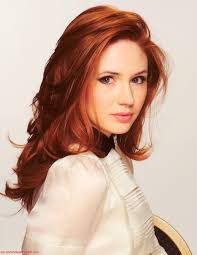 doctor who hairstyles red hair ginger doctor who karen gillian kinda cute i