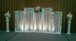 wedding backdrop stand creative wedding and party decor backdrop choices