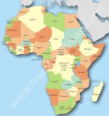 Guinea Africa Map by Countries