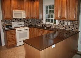 Effortless Steps Of Install Backsplash Tiles For Kitchens  Decor - Brown tile backsplash